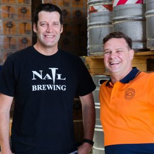 Nail Brewing with Feral Brewing